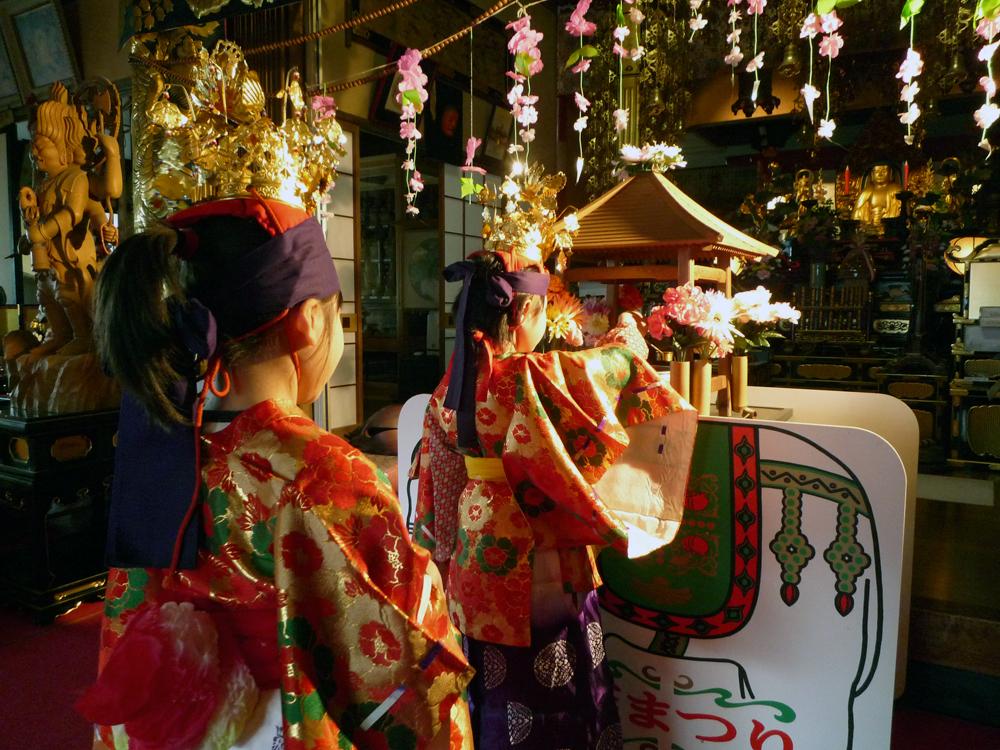 稲取 正定寺にて